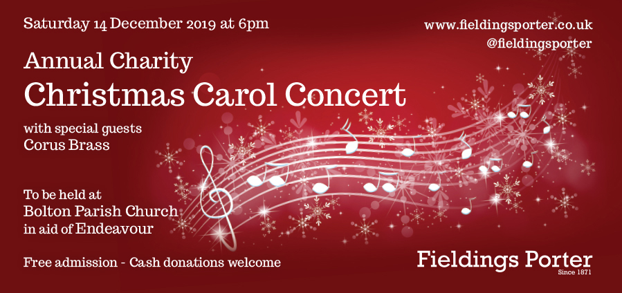 Annual Charity Christmas Carol Concert 14 December 2019