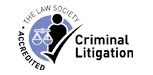 Criminal Litigation Accredited Logo